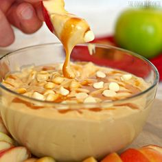 Skinny Caramel Apple Dip | 27 Easy Dessert Dips That Anyone Can Make