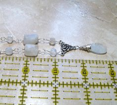 AAA Rainbow Moonstone Necklace in Sterling by MoonlightDesigns2, $68.00