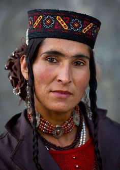 Tadjik woman from Tashkurgan (from the mountains near Pakistan and Xinjiang, China