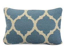 Fodera per cuscino in misto cotone fatto a mano Laura - 30x50 cm