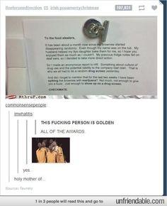 Genius!