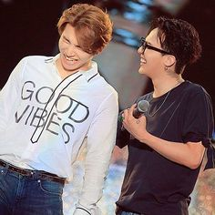 Daesung and GDragon - BIGBANG