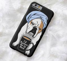 Lightweight iPhone case English Bulldog puppy by InspiredByBronx #bulldog #englishbulldog #bulldogcellphonecase