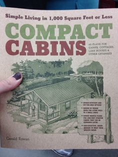 compact cabins book