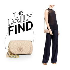 The daily find: Tory Burch quilted cross-body bag
