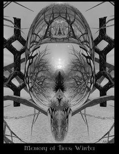 Memory of Trees: Winter by Casperium