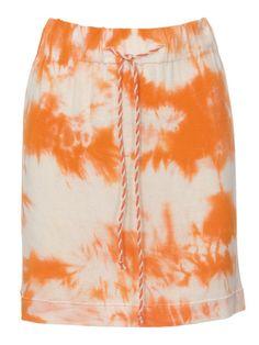 easy drawstring skirt - (free pdf pattern)