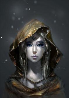 "scifi-fantasy-horror: "" Female wizard - 01 by "" Dnd Characters, Fantasy Characters, Female Characters, Character Concept, Character Art, Concept Art, Fantasy Inspiration, Character Inspiration, Writing Inspiration"