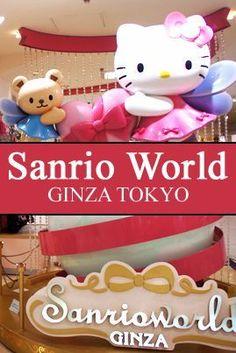 Sanrio World Ginza Tokyo Japan