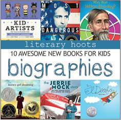 Biographies that are fun to read! (not just a homework assignment)
