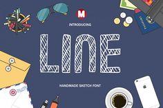Line from FontBundles.net