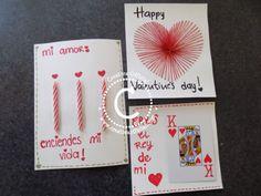 3 originales tarjetas para San Valentín. Soprende a ese ser especial con estas fáciles y creativas tarjetas!  Mira como hacerlas dandole click al link => http://creativaofficial.com/3-tarjetas-originales-y-unicas-para-san-valentin/