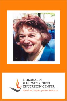 """Clara Knopfler, Holocaust Survivor: Was born in Romania, Transylvania and later lived in Hungary. In 1944, she was taken to a ghetto and subsequently transported to Auschwitz, then Riga concentration camp and later to two labor camps in East Prussia. After a long """"Death March"""" she was liberated in January 1945., but she had to endure a 3-month long walk back to Romania because there was no transportation. In 1962 she immigrated to France and finally to the United States."""
