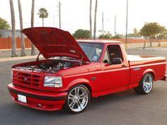 Custom Chevy Trucks, Ford Pickup Trucks, Toyota Trucks, New Trucks, Chevy Vs Ford, Ford Svt, Chevrolet Ss, Ford Lighting, Svt Lightning