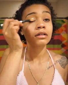 womens Makeup Wedding womens Makeup Prom womens Makeup Natural womens Makeup Tips Gorgeous Makeup, Love Makeup, Makeup Inspo, Makeup Art, Makeup Inspiration, Beauty Makeup, Black Girl Makeup, Girls Makeup, Dark Skin Makeup