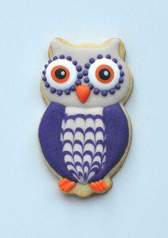 Owl Cookie // Jolies Gourmandises