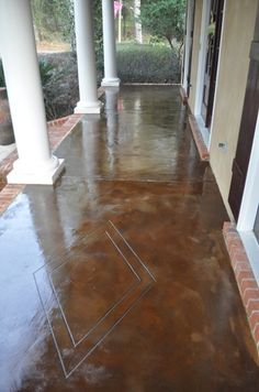 Acid Staining Beaumont Texas