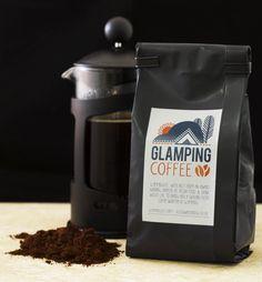 Glamping Coffee. Go to glamping site.com.  Sardinia italy