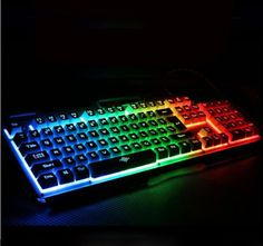 The game keyboard with backlight  http://www.yoybuy.com/en/show/545054031808?utm_source=pinterest&utm_campaign=yoybuy&utm_medium=social