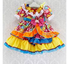 Resultado de imagem para vestidos de festa junina infantil