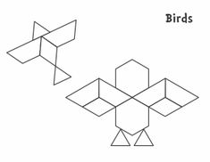Pattern Block Safari  Pattern Blocks Safari Animals And Animal