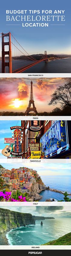24 Fun and Frugal Bachelorette Party Destinations Montreal- summer/fall, DC-fall (hotel discount), portland, me -summer/fall