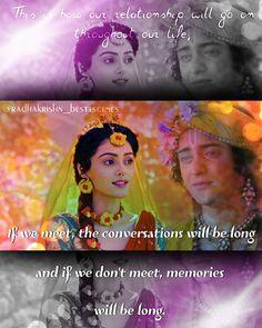 Radha Krishna Quotes, Radha Krishna Pictures, Radha Krishna Love, Radhe Krishna, Lord Krishna, Our Life, Love Of My Life, Just Love, Ek Onkar