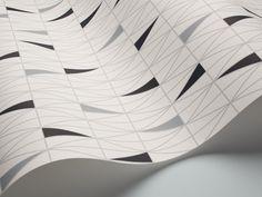 Ratio by Sven Markelius. Boråstapeter 2754 Wallpaper by scandinavian designers