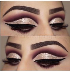 2017 Dazzling Eye Makeup #Beauty #Musely #Tip