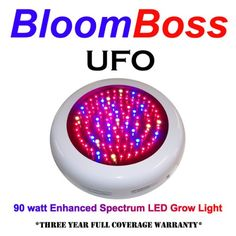 Special Offers - BloomBoss UFO LED Grow Light - In stock & Free Shipping. You can save more money! Check It (April 19 2016 at 04:59AM) >> http://herbgardenplanters.net/bloomboss-ufo-led-grow-light/