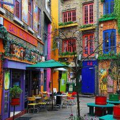 Neal's Yard @ Covent Garden, London