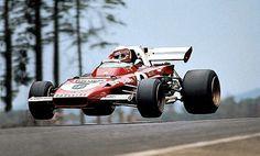 #6 Clay Regazzoni...Scuderia Ferrari SpA SEFAC...Ferrari 312B2...Motor Ferrari 001/1 F12 3.0...GP Alemania 1971