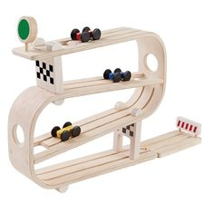 Shop Wooden Ramp Racer by Plan Toys with Next Day Delivery at The Original Party Bag Company. Sustainable Play, Better Kids for a Better World Toddler Toys, Kids Toys, Wooden Ramp, Wooden Wagon, Toy Barn, Plan Toys, Toy Camera, Rubber Tree, Eco Friendly Toys