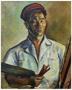 """De 18 de maio a 17 de julho a Caixa Cultural recebe a exposição """"Chove no Cafezal. Mabe, da Figura à Abstração"""", que reúne obras feitas por Manabu Mabe entre os anos 1945 e 1959."""