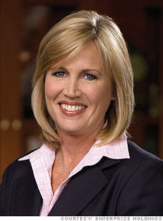 Pamela Nicholson, president and COO, Enterprise Holdings--She is where I hope to be someday.