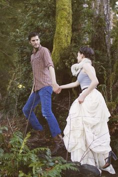 such a cute engagement shoot!