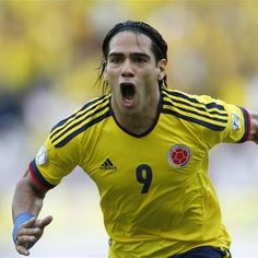 Colombia sailed toward the 2014 World Cup with a win Friday over troubled Paraguay, thanks to a brace from in-form striker Radamel Falcao. Premier League, Chelsea, Supersport, World Cup 2014, Football Players, Ronald Mcdonald, Soccer, Mens Tops, Belgium