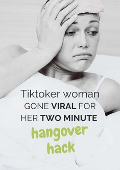 Tiktoker became viral because of her 2-minute hangover hack. Check this out! #AcupunctureWorks #Acupuncturebenefits #tcm #traditionalchinesemedicine
