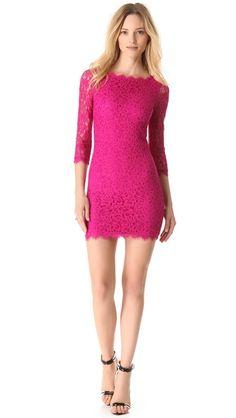 """Diane von Furstenberg Zarita Lace Dress  Rachel Berry wore this dress in """"I do"""""""