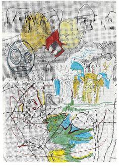 SIGMAR POLKE, Untitled (Remix), 1995