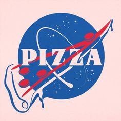 pizza pizza design NASA Pizza Slice T-Shirt (Ladi Pizza Art, Photo Deco, Funny Tshirts, Outer Space, Milky Way, Iphone Wallpaper, Geek Stuff, Cricut, Astronomy