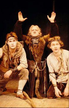 Paul Spence in Cymbeline, Alexander/Watkins, Royal Shakespeare Company, November 1987