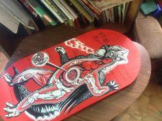Handdrawn Balanceboard deck indoboard