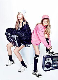 Yubin (Wonder Girls) & Heize
