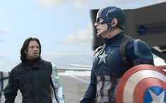 Deleted scene from CACW possibly foreshadowing Bucky taking up the shield when Stevie.....uh...puts it down.