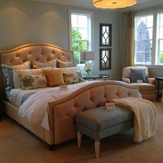 Master bedroom idea.. Color.. Sea salt by Benjamin Moore