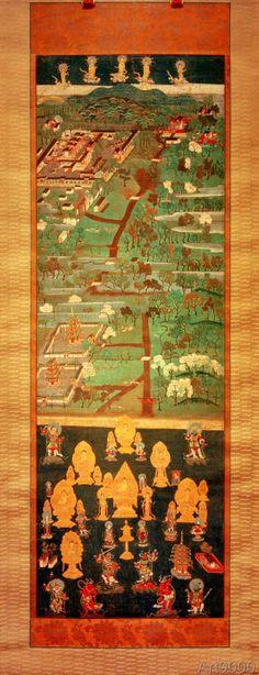 Japanisch - Kasuga-Schrein-Mandala