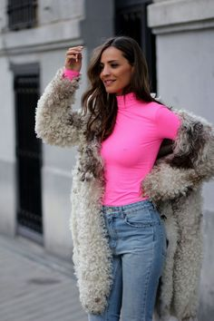 Casual Fall Outfits That Will Make You Look Cool – Fashion, Home decorating Neon Outfits, Casual Fall Outfits, Cute Outfits, Fashion Outfits, Pink Fashion, Urban Fashion, Fashion Looks, Rosa Style, Look Body