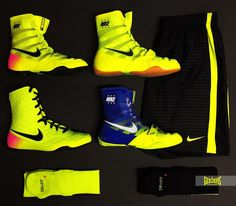 HIGH VOLTAGE ⚡️  Light up your training with NIKE'S VOLT range. Follow the link below for more info:  LINK >>> http://www.geezersboxing.co.uk/catalogsearch/result/?q=nike #nike #NIKE #volt #Boots #Boxing #Footwear #Shoes #GeezersBoxing #Geezers #HyperKO