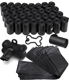 OxGord 1000 Black Pet Dog Waste Bags for Poop Removal Disposal Heavy Duty with Walk Leash Bone Dispenser and Leash Clip Earth Rated Anti Bug Scented Disposal *** You can get additional details at the image link. Cute Dogs And Puppies, Pet Dogs, Pets, Short Dog, Pet Life, Dog Supplies, Dog Accessories, Dog Leash, Dog Care